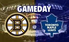 Bruins vs Leafs
